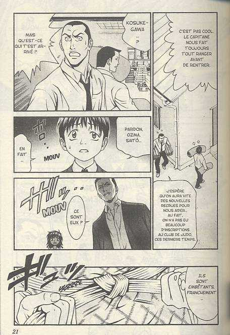 Change Hi Fu Mi T6, manga chez Taïfu comics de Sakaguchi, Iwasawa