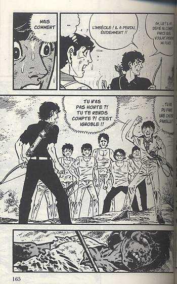 Survivant T10, manga chez Milan de Saïto
