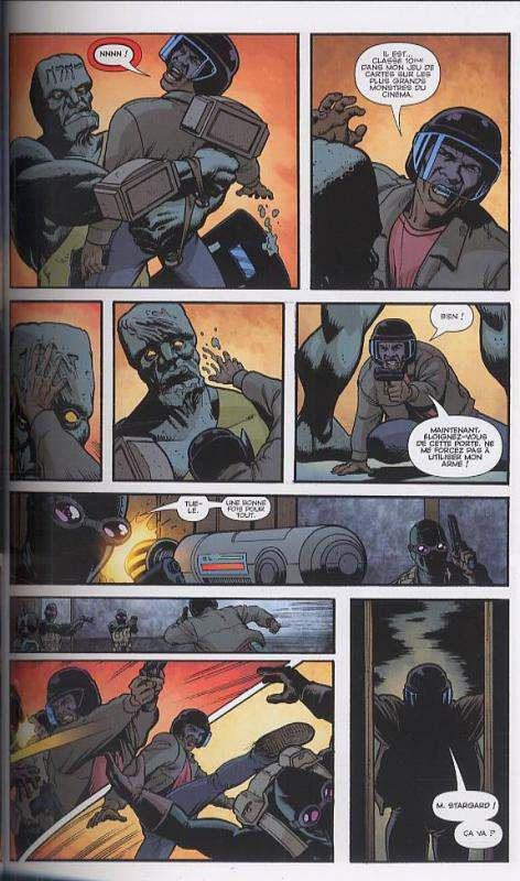 Seven soldiers of victory T1 : Etranges aventures (0), comics chez Panini Comics de Morrison, Irving, Sook, Williams III, Stewart, Bianchi, Eyring, Stewart, Baumann