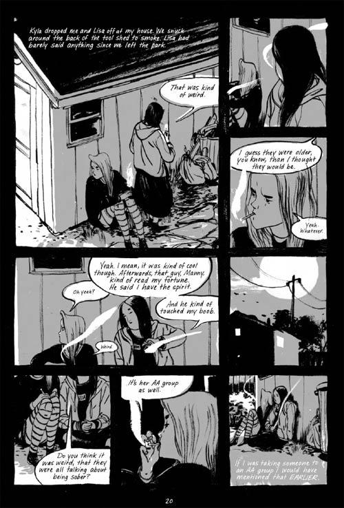 Skim, comics chez Casterman de Tamaki, Tamaki