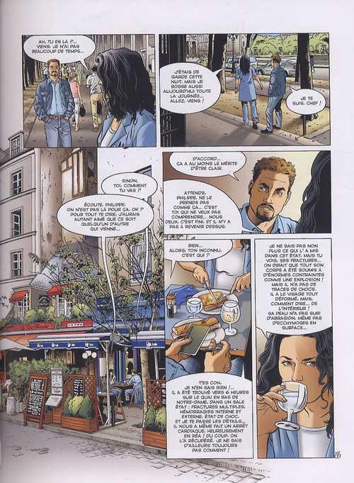 Voyageur – cycle 2 : Présent, T5 : Présent 1 (0), bd chez Glénat de Boisserie, Stalner, Bourgne