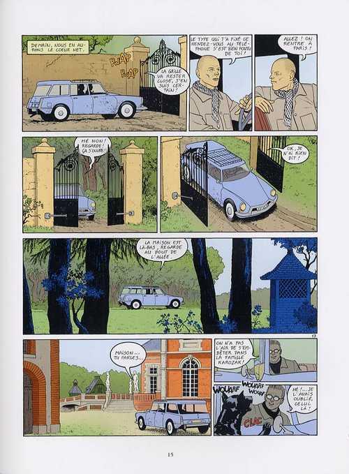 Le roi du monde T2 : Le secret du tsigane (0), bd chez Glénat de Corteggiani, Cébé