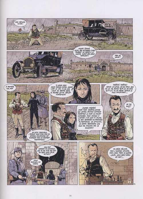 Tanâtos T3 : Le mystère du Lusitania (0), bd chez Glénat de Convard, Delitte, Avril