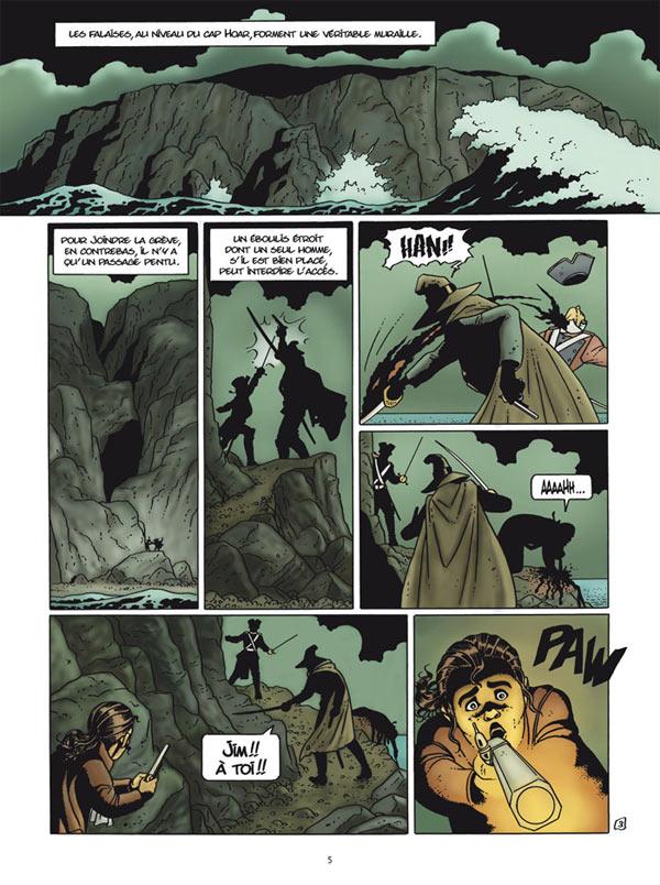 Le secret du Mohune T2 : Le Trésor de John Le Noir (0), bd chez Delcourt de Rodolphe, Hé, Puerta