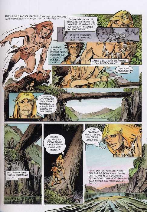 Rahan T8 : Le trésor de Bélesta (0), bd chez Lecureux de Lecureux, Cheret, Cheret