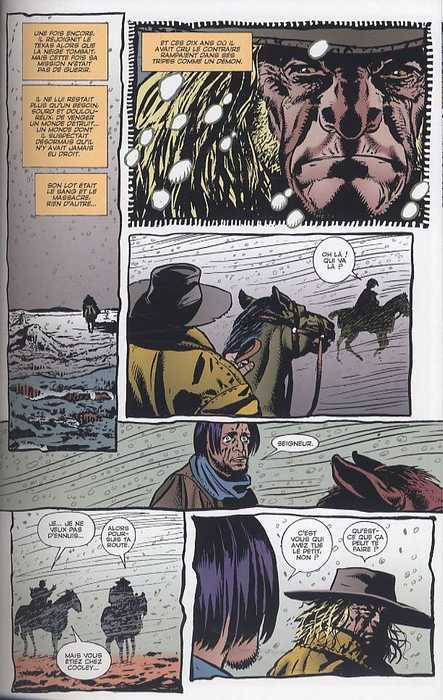 Preacher – Edition Panini, T4 : Histoire ancienne (0), comics chez Panini Comics de Ennis, Pugh, Case, Ezquerra, Eyring, Hollingsworth, Rambo, Fabry