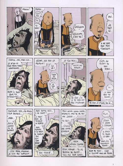 The autobiography of a Mitroll T1 : Man is dead (0), bd chez Dargaud de Bouzard, Ory