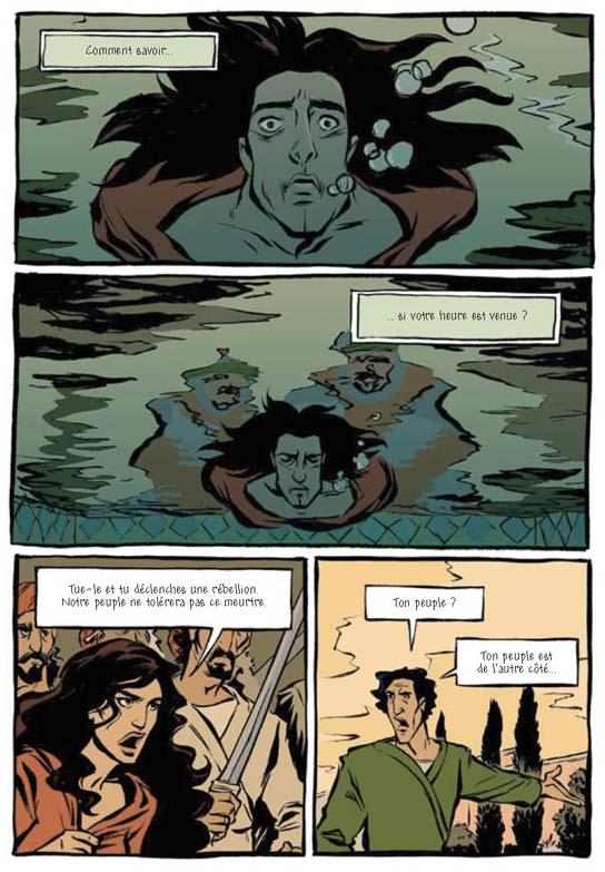 Prince of persia T1, comics chez Dargaud de Sina, Mechner, Puvilland, Pham, Sycamore