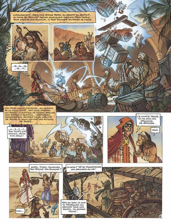 Tykko des sables T1 : Le défi des treize tribus (0), bd chez Soleil de Arleston, Keramidas, Melanÿn, Garcia, Vincent
