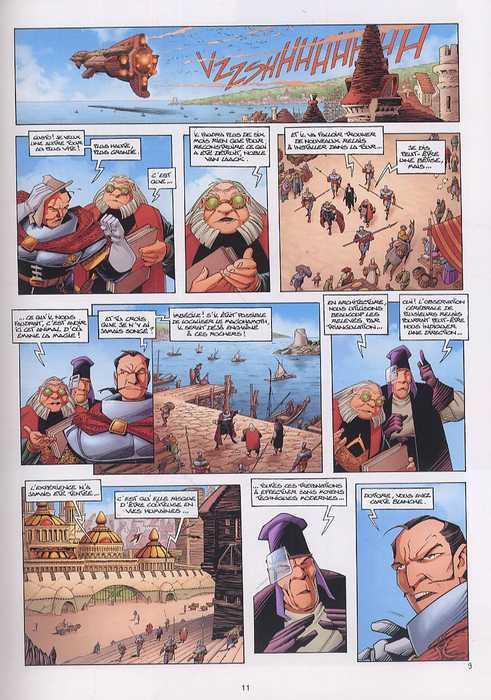 Les conquérants de Troy T2 : Eckmül le Bûcheron (0), bd chez Soleil de Arleston, Tota, Lamirand