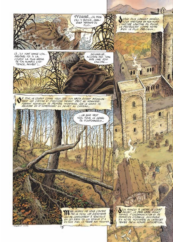 Légende T4 : Le Maître des Songes (0), bd chez Soleil de Swolfs