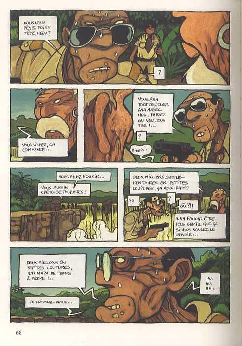 Dog et moi, bd chez Gallimard de Plus