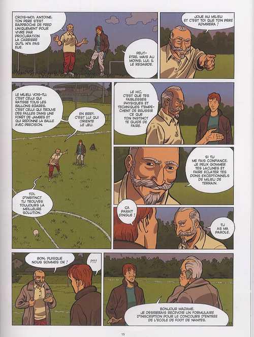 Match décisif : Match décisif (0), bd chez Emmanuel Proust Editions de Félix, Marek, Bouchard