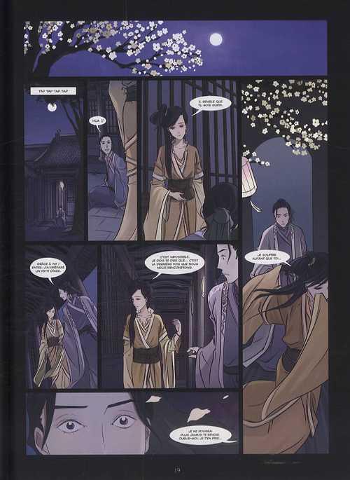 Les contes du boudoir hanté T2, bd chez Delcourt de Li, Morvan