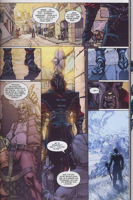 Star Wars - Jedi T7 : Nomade (0), comics chez Delcourt de Williams, Badeaux, Jackson
