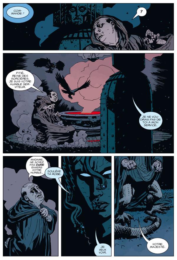 Hellboy T9 : L'appel des ténèbres (0), comics chez Delcourt de Mignola, Fegredo, Stewart