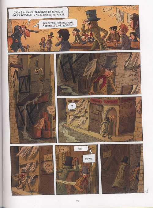 Oliver Twist T3, bd chez Delcourt de Dauvillier, Deloye, Merlet, Rouger