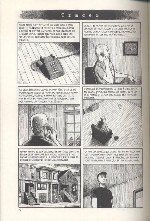 Insomnie et autres histoires, comics chez Delcourt de Tomine