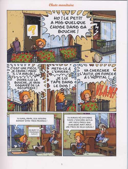 Les blagues de Toto T7 : La classe qui rit (0), bd chez Delcourt de Coppée, Lorien