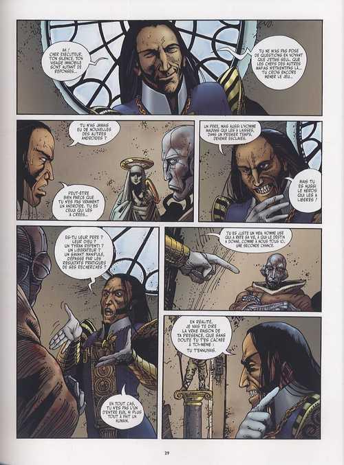 Exterminateur 17 - La trilogie d'Ellis T4 : Des larmes de sang (0), bd chez Casterman de Dionnet, Baranko, Xenofontov