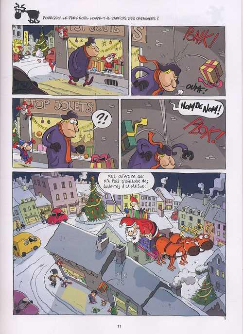 Tout ce que vous avez toujours voulu savoir sur le père Noël, bd chez Soleil de Panetier, Madaule