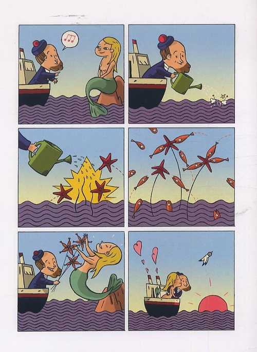 Capitaine T1 : La mer est mon jardin (0), bd chez Milan de Meunier