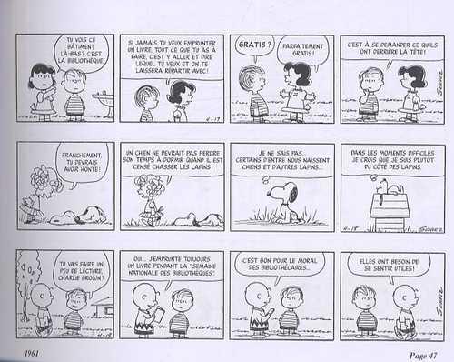 Snoopy T6 : Intégrale 1961-1962 (1), comics chez Dargaud de Schulz
