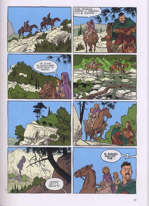 Messire Guillaume T3 : Terre et mère (0), bd chez Dupuis de de Bonneval, Bonhomme, Walter