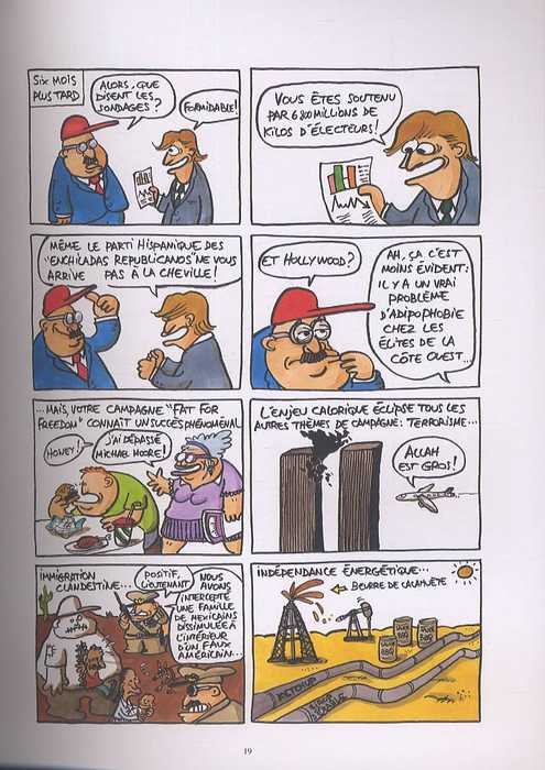 Bye Bye Bush, bd chez Dargaud de Collectif