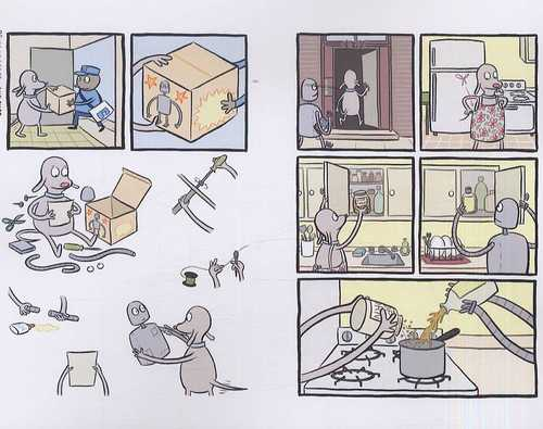 Rêves de robot, comics chez Dargaud de Varon
