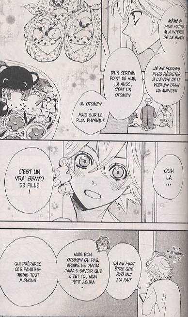 Otomen T2, manga chez Delcourt de Kanno