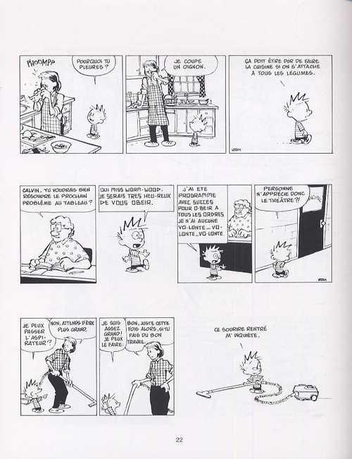 Calvin et Hobbes – Petit format, T1 : Adieu, monde cruel ! (0), comics chez Hors Collection de Watterson