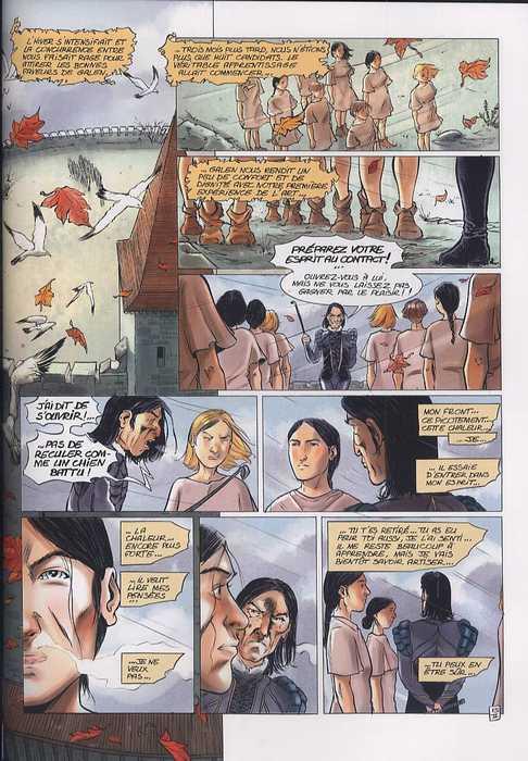 L'assassin royal T2 : L'Art (0), bd chez Soleil de Gaudin, Sieurac, Alquier