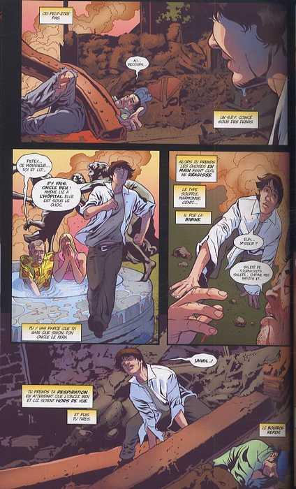Spider-Man : Un grand pouvoir... (0), comics chez Panini Comics de Lapham, Harris, Mettler, Milla, Mounts