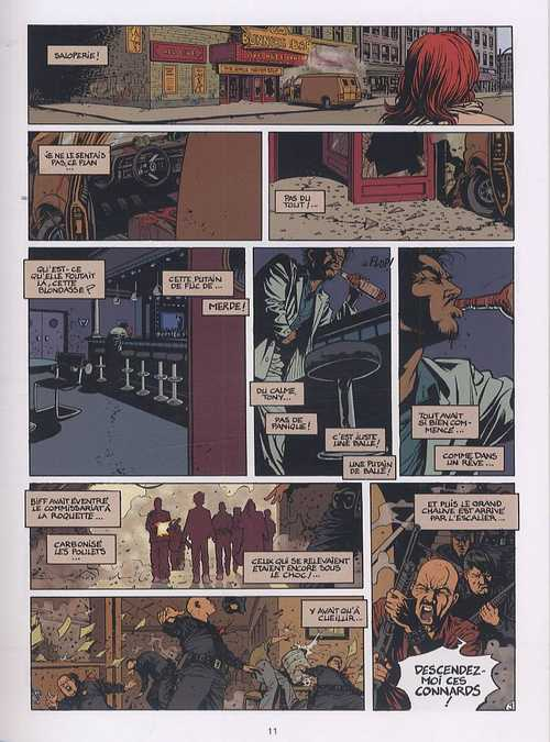 District 77 T3 : Big-Boss requiem (0), bd chez Le Lombard de Dugand, Denys