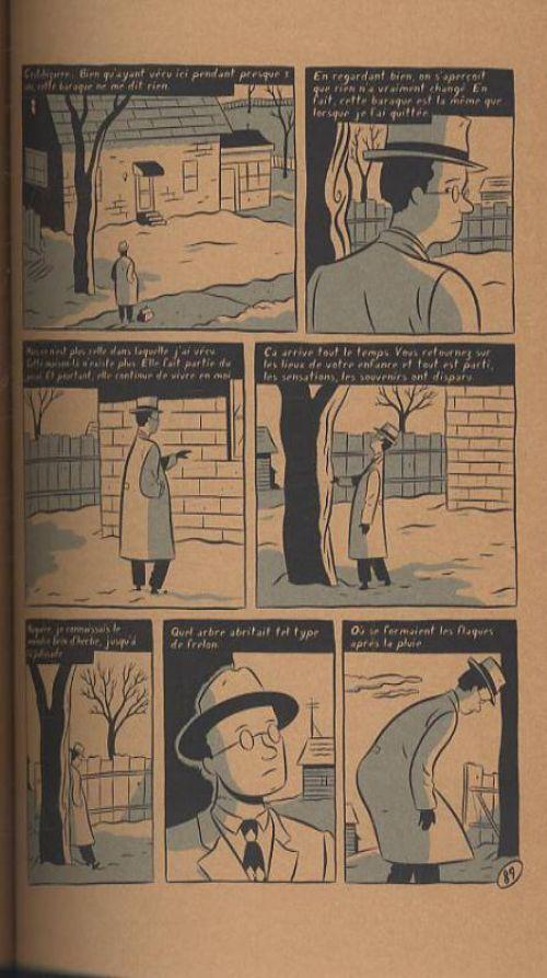 La vie est belle malgré tout, comics chez Delcourt de Seth