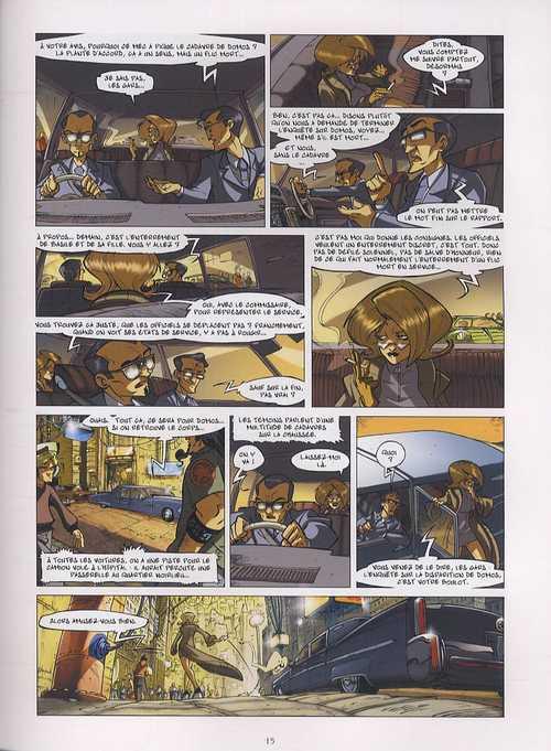 L'ivresse des fantômes T3 : Tout le monde cherche renard (0), bd chez Delcourt de Lupano, Tanco, Maffre