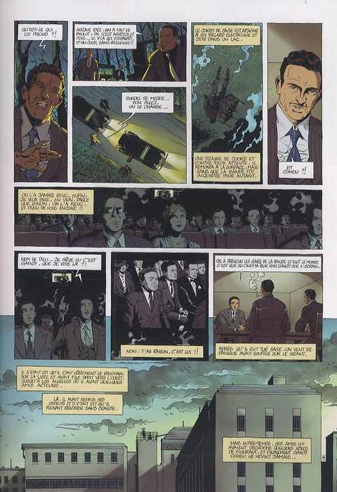 Mafia Story T4 : Murder inc. (2/2) (0), bd chez Delcourt de Chauvel, Le Saëc, Smulkowski