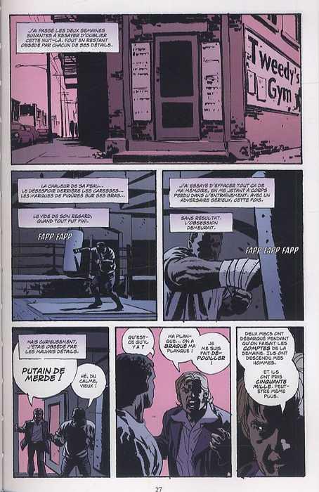 Criminal T3 : Morts en sursis (0), comics chez Delcourt de Brubaker, Phillips, Staples