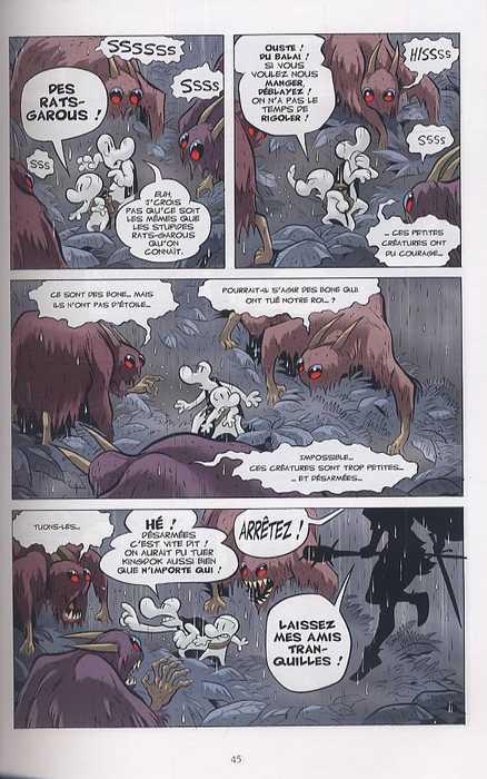 Bone – Edition couleur, T6 : La caverne du vieil homme (0), comics chez Delcourt de Smith, Hamaker
