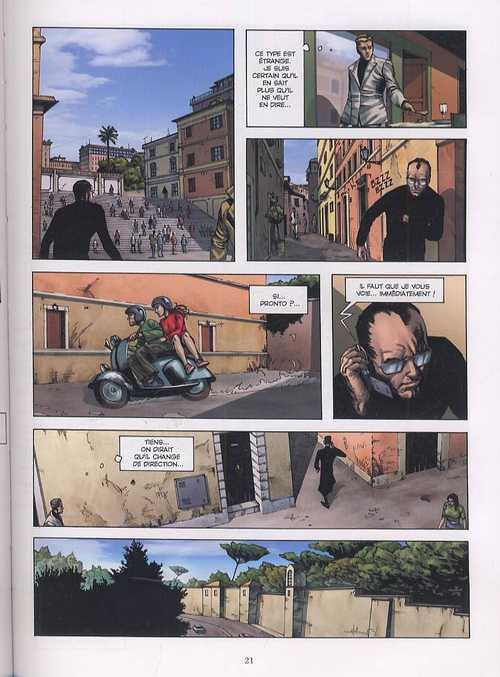 SAS T6 : L'espion du Vatican (0), bd chez Glénat de Eden, César, Fogolin