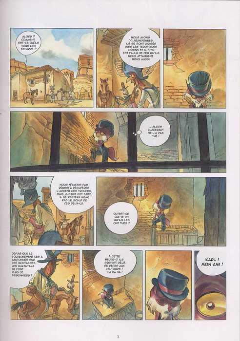 Karl & Klee T2 : A jamais ennemis (0), bd chez Vents d'Ouest de Speca