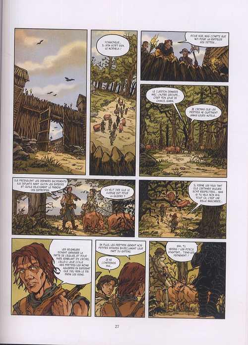 Magus T1 : Le fossoyeur (0), bd chez Glénat de Cyrus, Debois, Annabel, Merlet
