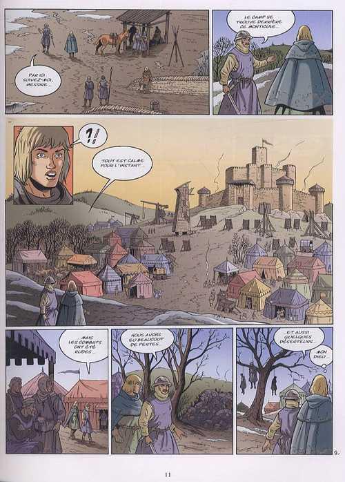 Les aigles décapitées T21 : La main du prophète (0), bd chez Glénat de Pierret, Caryn, Pierret