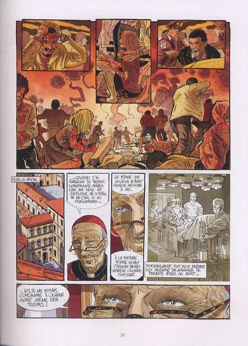 Le légataire T4 : Le cardinal (0), bd chez Glénat de Giroud, Meyer, Béhé