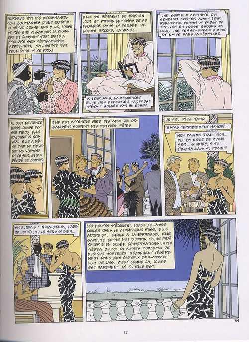 Madila, bd chez Le Lombard de de Spiegeleer