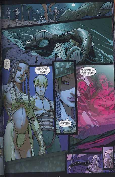 Fathom origines T1 : La rage de Killian (0), comics chez Delcourt de O'neil, Caldwell, Turner, Steigerwald, Starr, Avalon studios, Sotelo