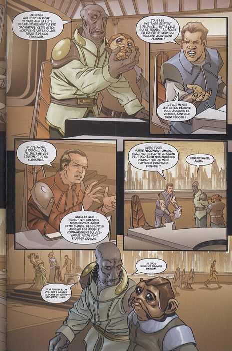 Star Wars Legacy – Legacy, T4 : Indomptable (0), comics chez Delcourt de Ostrander, Robinson, Francia, Anderson