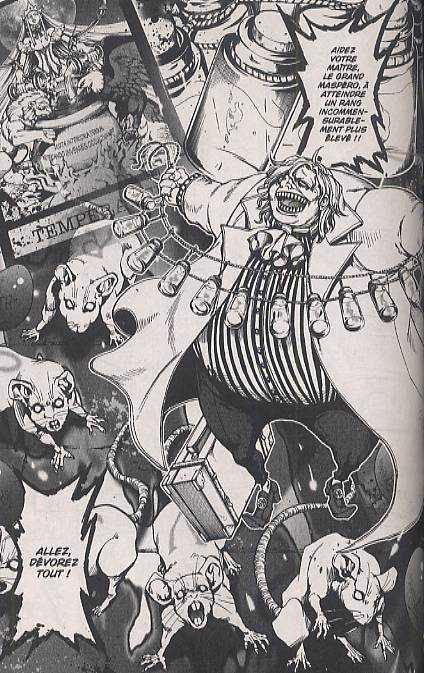 Le chevalier d'Eon T5, manga chez Asuka de Kiriko, Ubukata