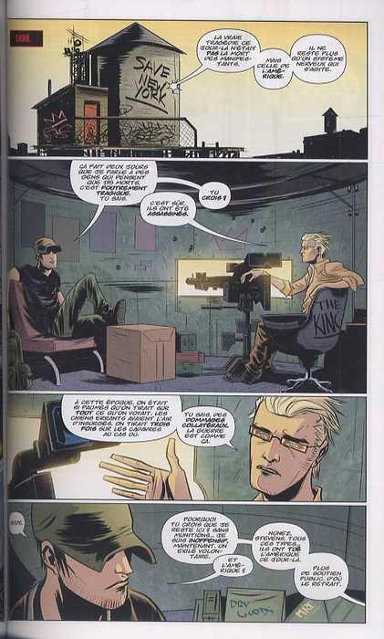 DMZ – Edition Hardcover, T4 : Tirs amis (0), comics chez Urban Comics de Wood, Kalvachev, Fox, Burchielli, Donaldson, Cox